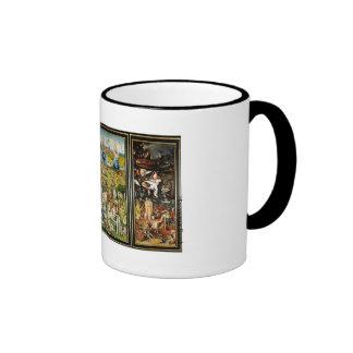 El jardín de las delicias ringer mug