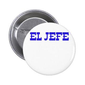 El Jefe 6 Cm Round Badge
