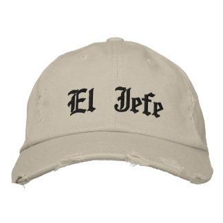 El Jefe Embroidered Hats