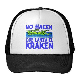 El Kraken Mesh Hat