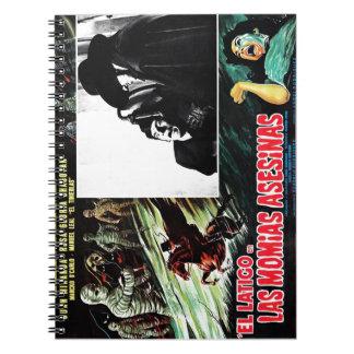 El Latigo Contras Las Momias Asesinas Notebook