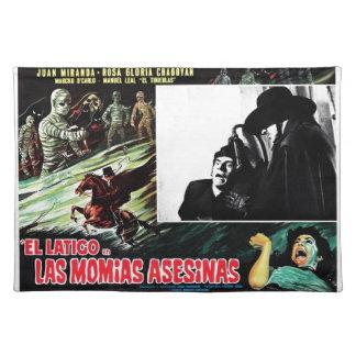 El Latigo Contras Las Momias Asesinas Place Mat