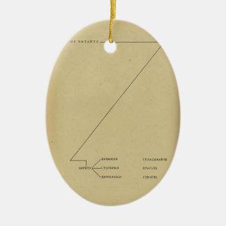 El Lissitzky-Do not read grab bars paper wood fold Christmas Ornament