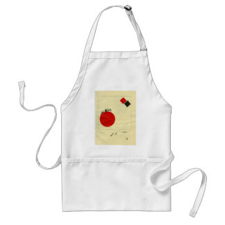 El Lissitzky- Flying to earth from a distance Standard Apron