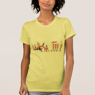 El Lissitzky- Four (arithmetic) actions T-Shirt