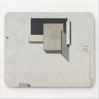 El Lissitzky- Proun 1 C Mouse Mat