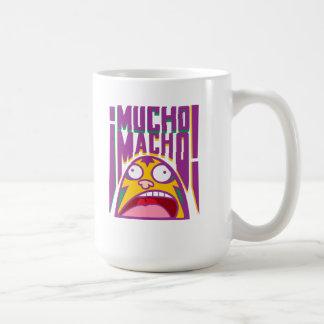 El Luchador Macho Mexican Lucha mug