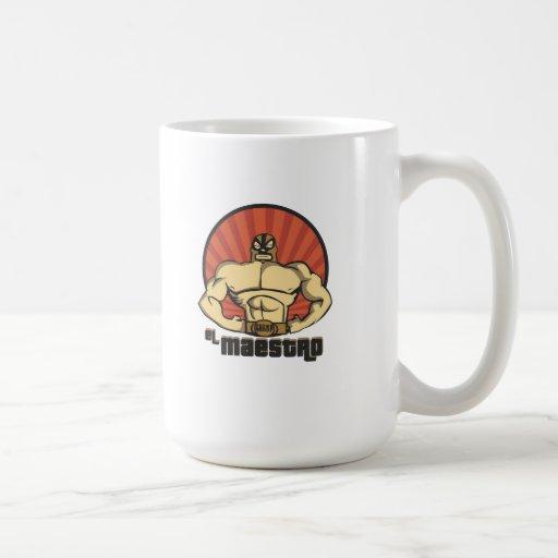 El Maestro Mexican Lucha Libre mug
