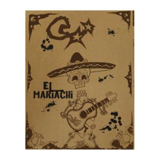 El mariachi wood wall decor