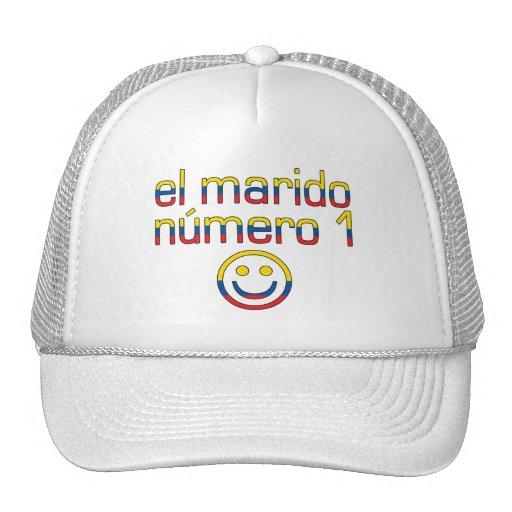 El Marido Número 1 - Number 1 Husband Ecuadorian Trucker Hat