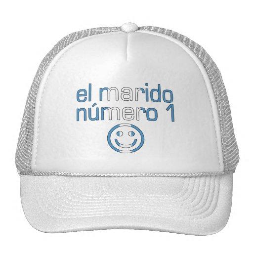 El Marido Número 1 - Number 1 Husband Guatemalan Trucker Hats