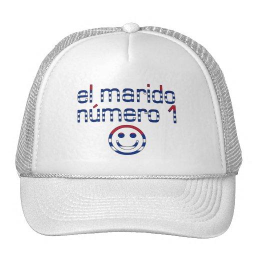 El Marido Número 1 - Number 1 Husband in Cuban Mesh Hats