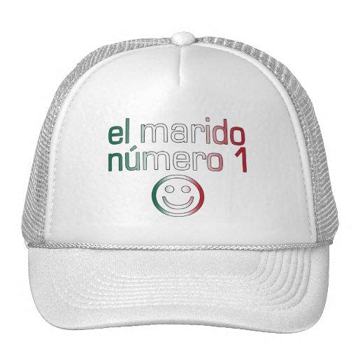 El Marido Número 1 - Number 1 Husband in Mexican Trucker Hat