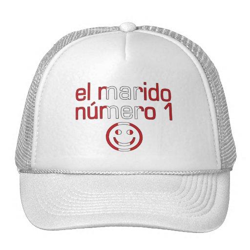 El Marido Número 1 - Number 1 Husband in Peruvian Trucker Hats