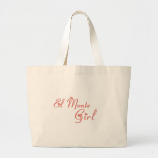 El Monte Girl tee shirts Canvas Bags
