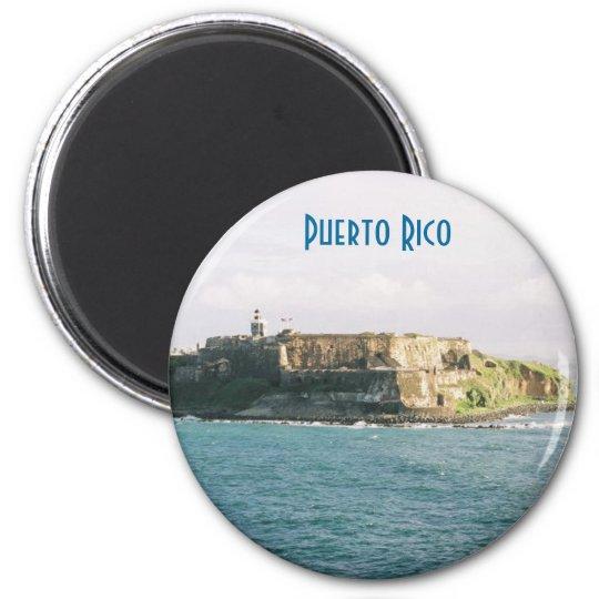 El Morro 6 Cm Round Magnet