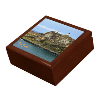 El Morro Guarding San Juan Bay Entrance Gift Box