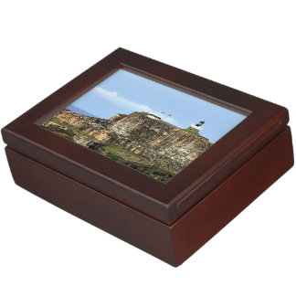 El Morro Guarding San Juan Bay Keepsake Box