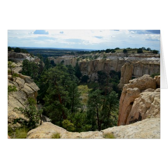El Morro National Park, New Mexico Card