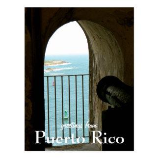 El Morro, Puerto Rico Postcard