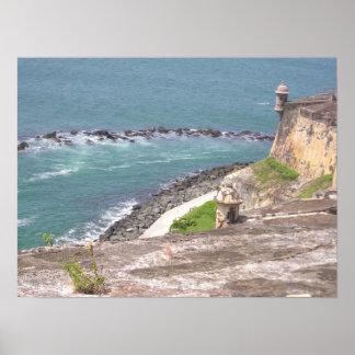 El Morro, Puerto Rico Poster