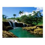 El Nicho Falls, Cuba Postcards