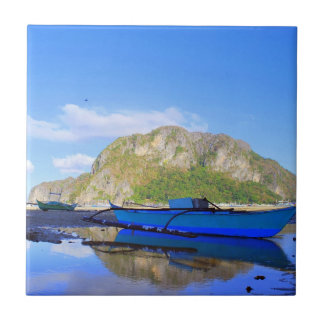 El Nido Travel Small Square Tile