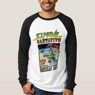 El Nopal Cantavivo, a charming long sleeve T-Shirt