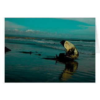 El Pabellon Beach, Baja Mexico Card