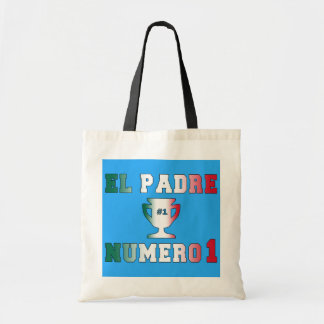 El Padre Número 1 #1 Dad in Spanish Father's Day Bag