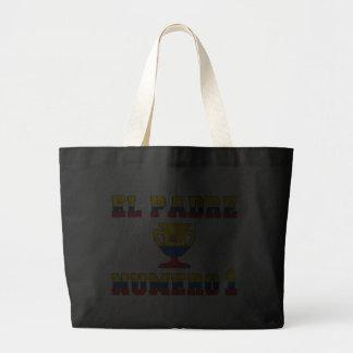El Padre Número 1 - Number 1 Dad in Ecuadorian Canvas Bag