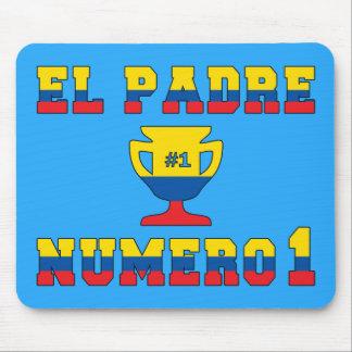 El Padre Número 1 - Number 1 Dad in Ecuadorian Mouse Pad