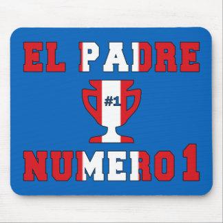 El Padre Número 1 - Number 1 Dad in Peruvian Mouse Pad
