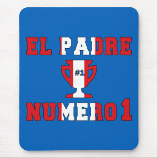El Padre Número 1 - Number 1 Dad in Peruvian Mouse Pad