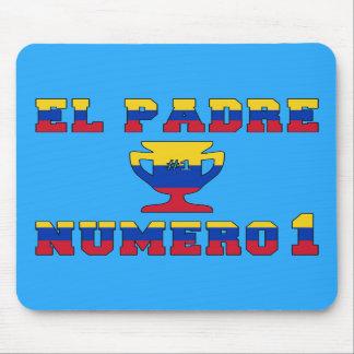 El Padre Número 1 - Number 1 Dad in Venezuelan Mouse Pads