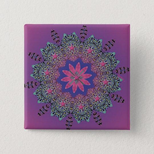 El Paseo Pink Dawn Button