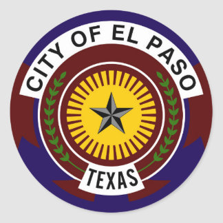 el paso flag united states america symbol texas stickers