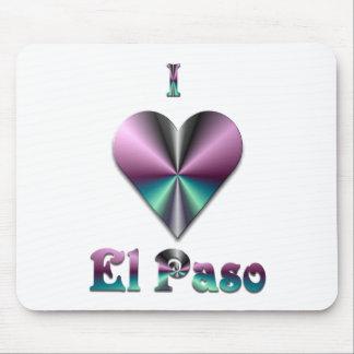 El Paso -- Purple & Turquoise Mouse Pads