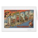 El Paso, Texas - Ciudad Juarez Card