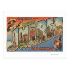 El Paso, Texas - Ciudad Juarez Postcard
