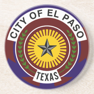 El Paso, Texas, United States Beverage Coaster