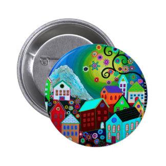 El Pueblo 6 Cm Round Badge