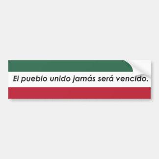 El Pueblo Sticker Bumper Sticker