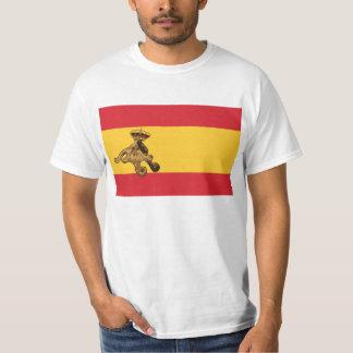 El Pulpo Paul invade la bandera de España! Tshirt