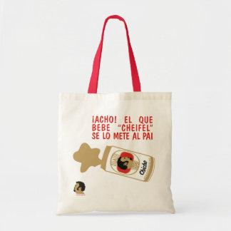 """El que bebe """"cheifel"""" tote bag"""