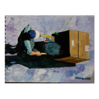 el reciclador postcard