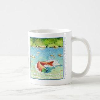 El Salmon, taza de cáfe Coffee Mugs