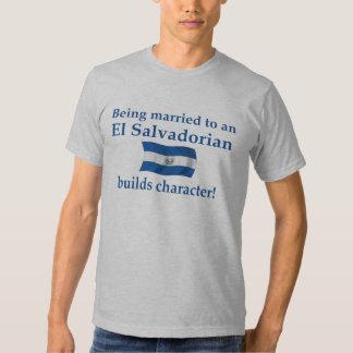 El Salvador Builds Character Tshirts