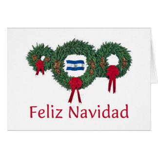 El Salvador Christmas 2 Card