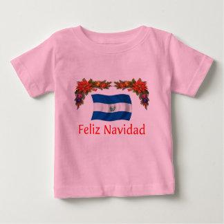 El Salvador Christmas Baby T-Shirt